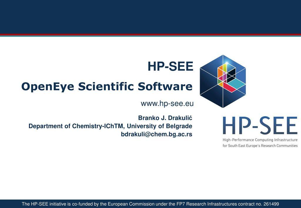 OpenEye Scientific Software - ppt download