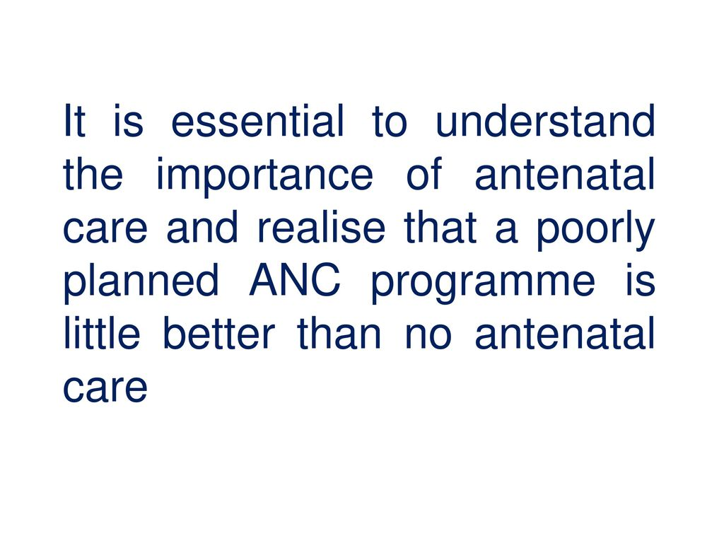 Review of Antenatal Care - ppt download