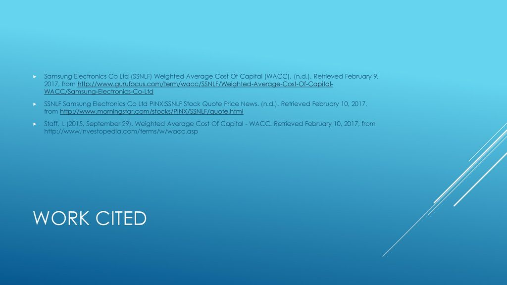 Samsung Electronics  - ppt download