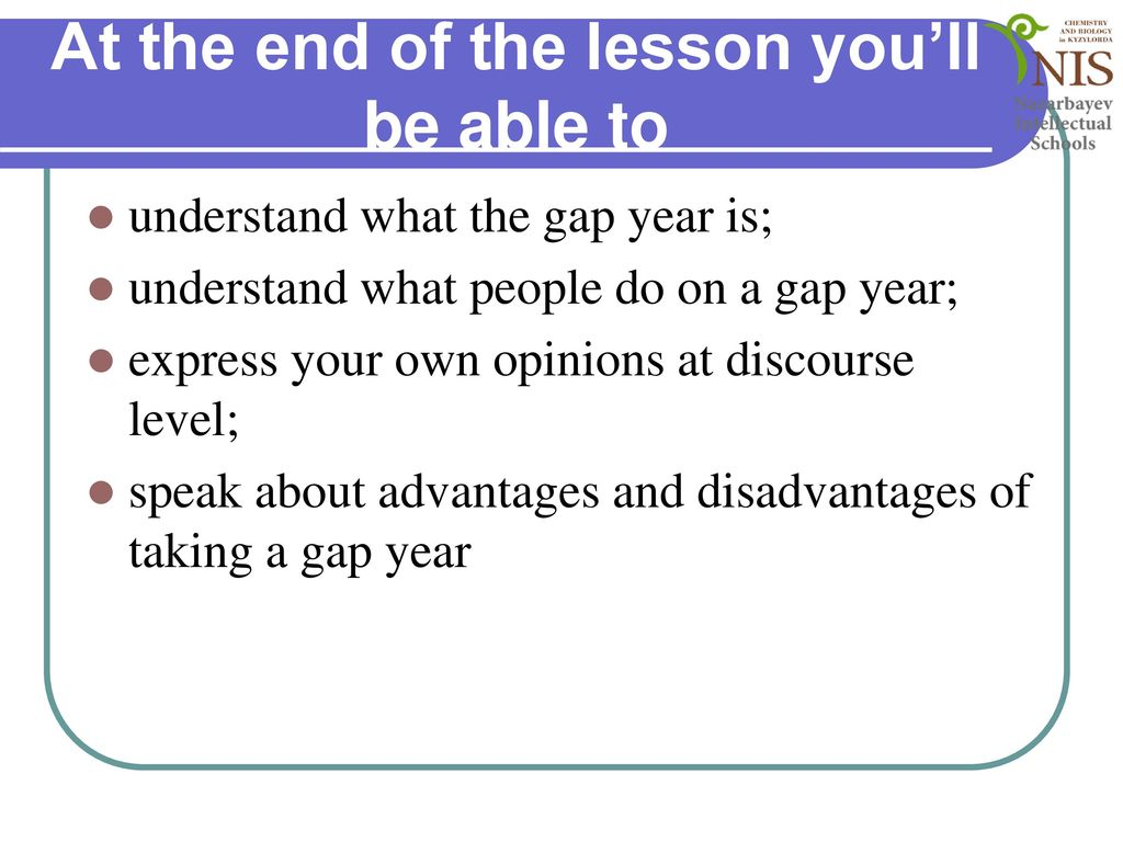disadvantages of taking a gap year