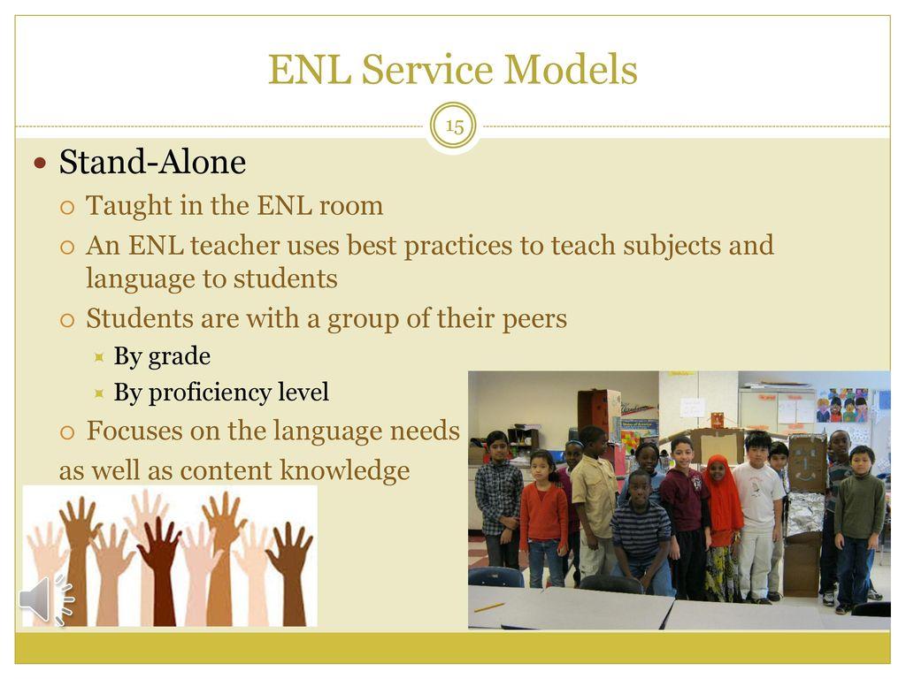 Office of ENL, World Languages & Bilingual Education - ppt