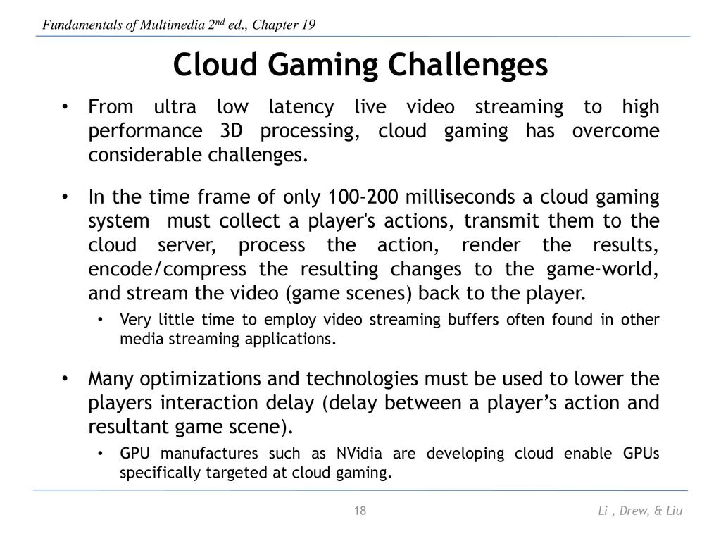 Chapter 19 Cloud Computing for Multimedia Services - ppt download