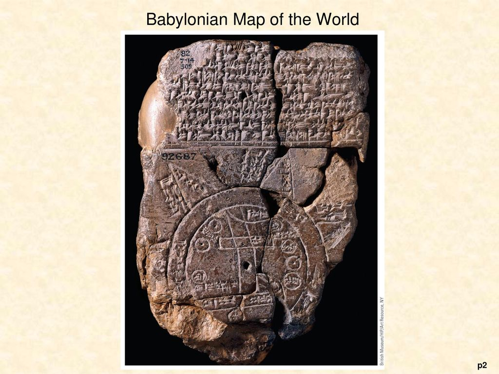 Babylonian Map Of The World Ppt Download