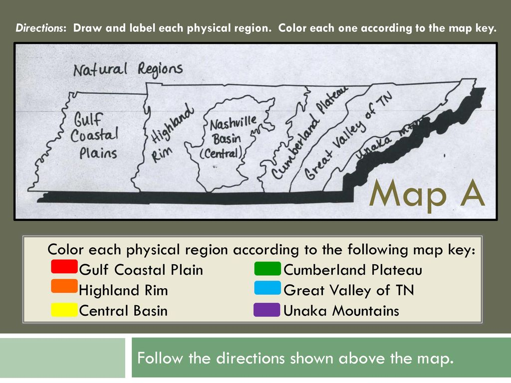 Focus on Tennessee's Physical Regions - ppt download on tennessee vacations, california state map, nc state map, tennessee map with cities, tennessee city map, franklin tennessee map, tennessee geographical map, tn map, tennessee road map, memphis map, ms state map, tennessee regions map, montana state map, usa map, kentucky map, florida map, michigan state map, dale hollow lake map, tennessee time zones, tennessee symbols,
