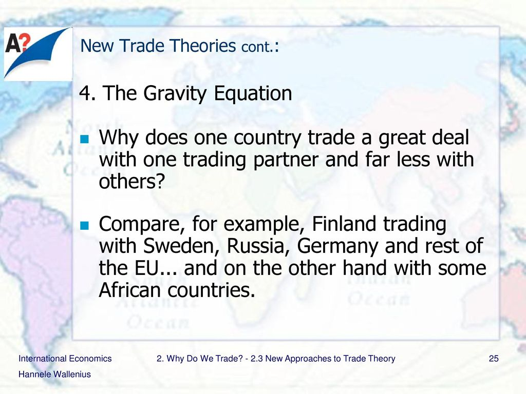 new trade theory example