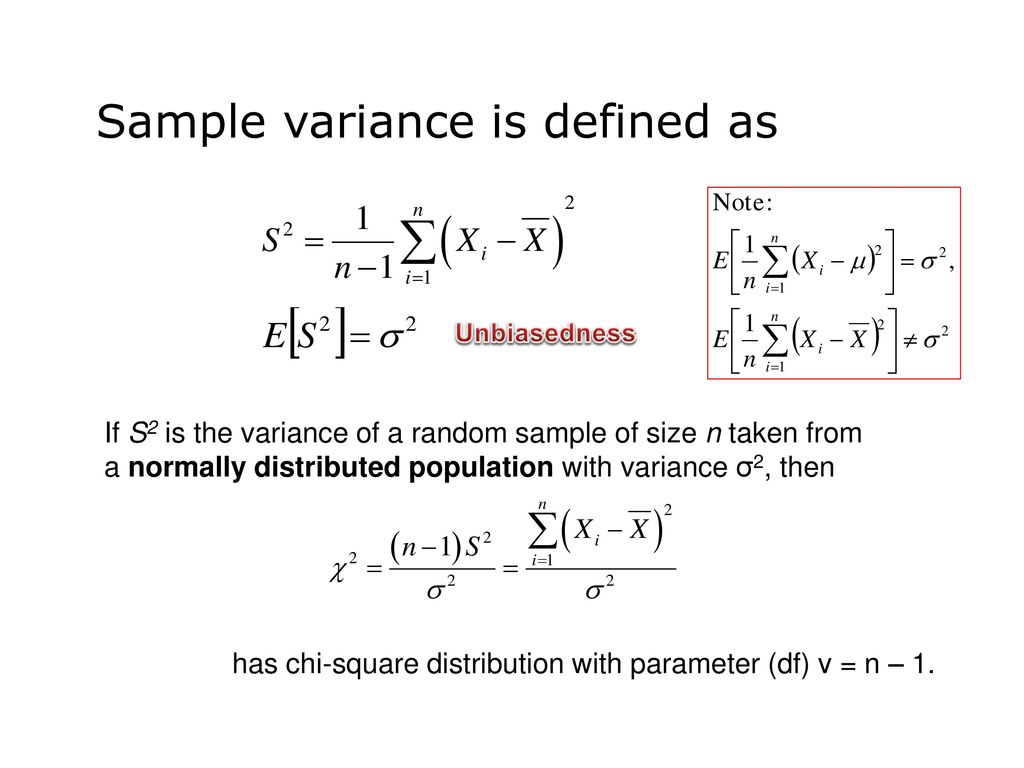 Math 4030 – 10b Inferences Concerning Variances: Hypothesis Testing