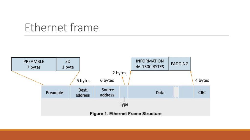 Ethernet Frame Structure - ppt download