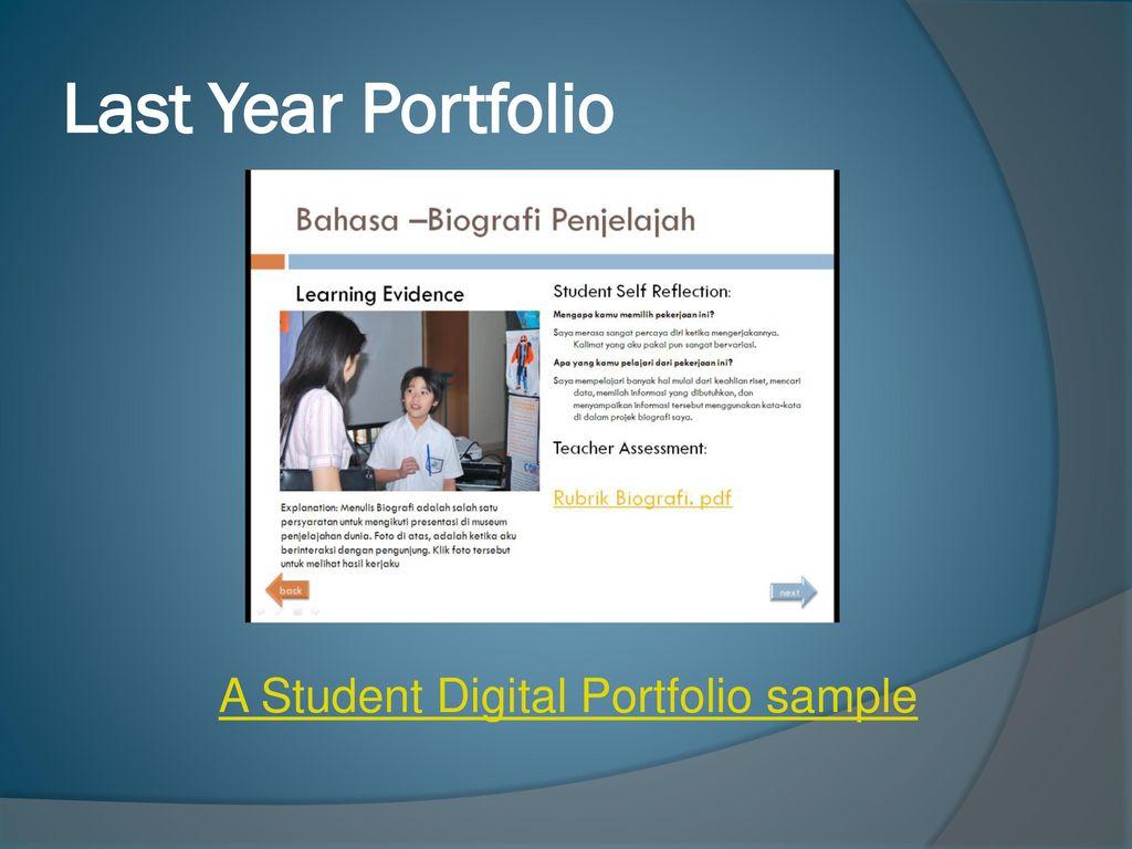 PYP Sekolah Ciputra New Digital Portfolio  - ppt download