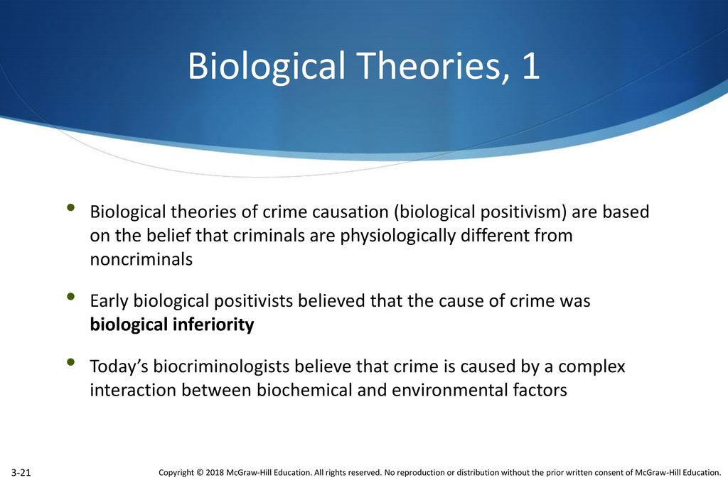 how would biological positivists prevent crime