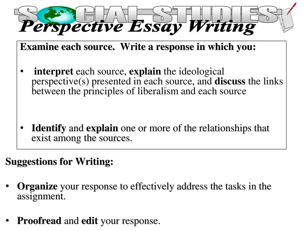 what is to examine in essay writing