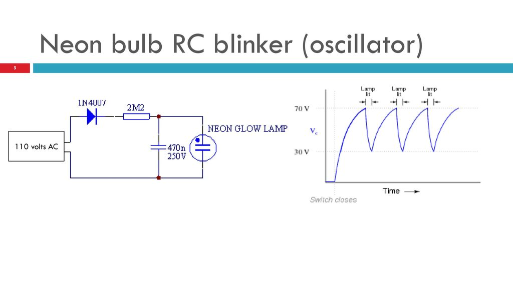 Astable multivibrator using op amp ppt