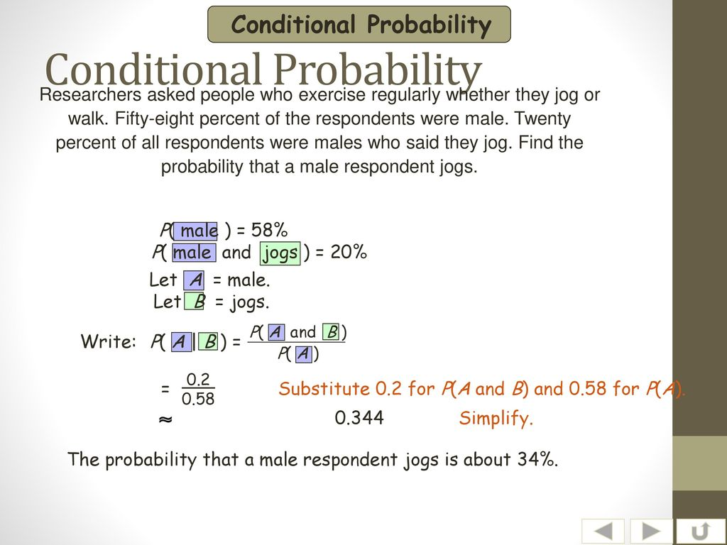 Conditional Probability Ppt Download