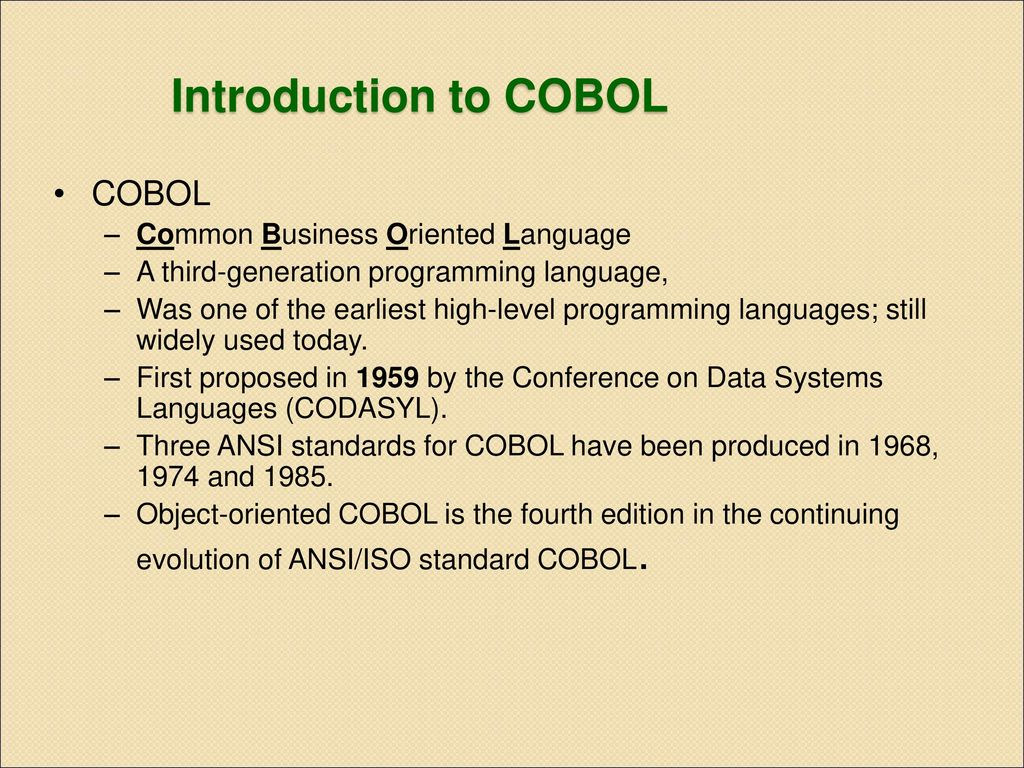 who invented cobol