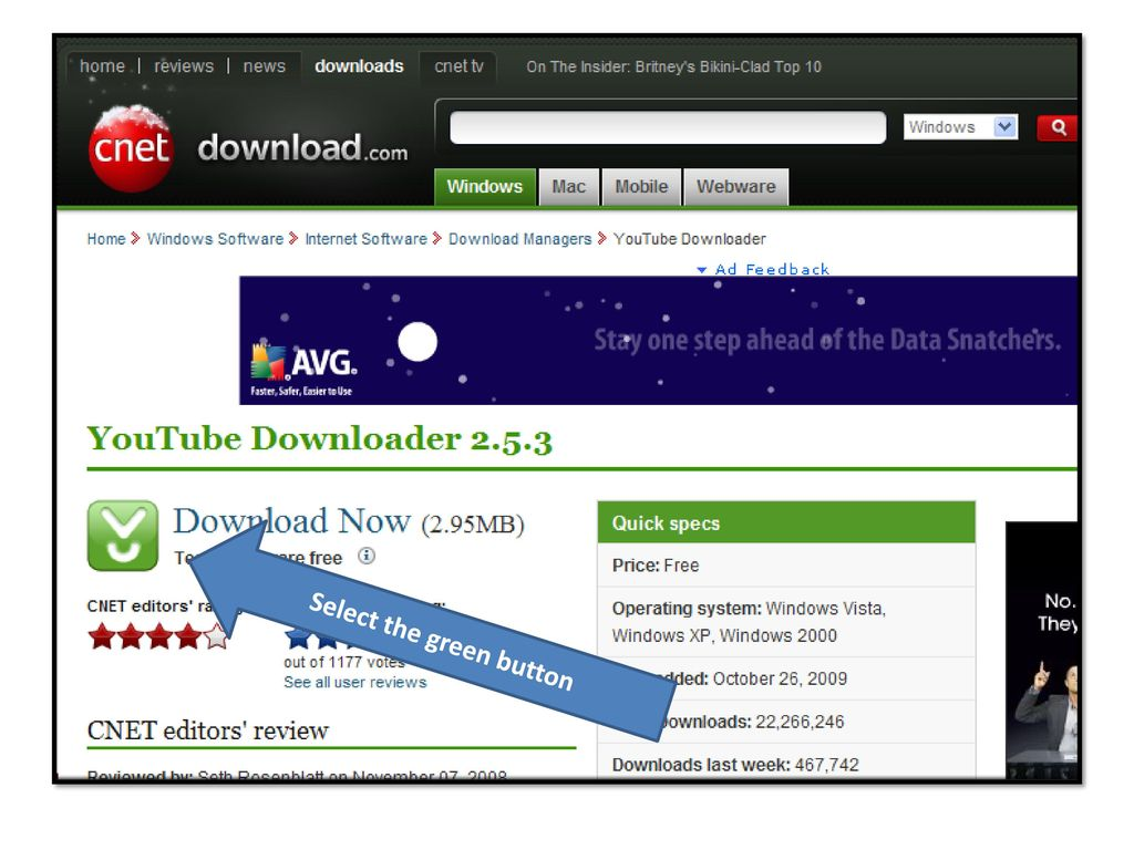 How to install and use YouTube downloader - ppt download