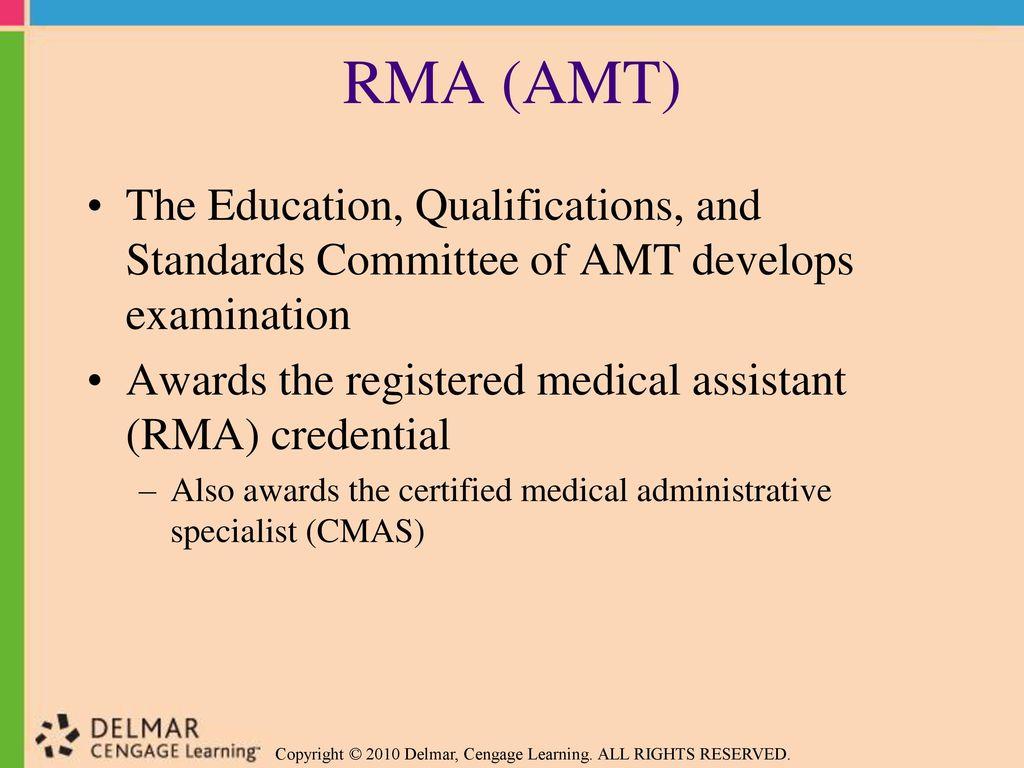 Preparing for Medical Assisting Credentials - ppt download