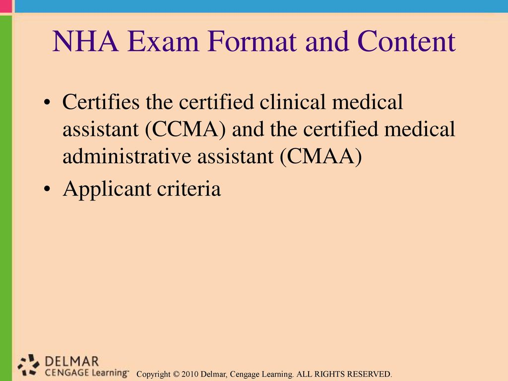 Preparing For Medical Assisting Credentials Ppt Download