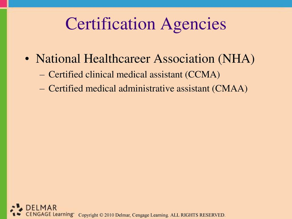 Preparing For Medical Assisting Credentials Ppt Download