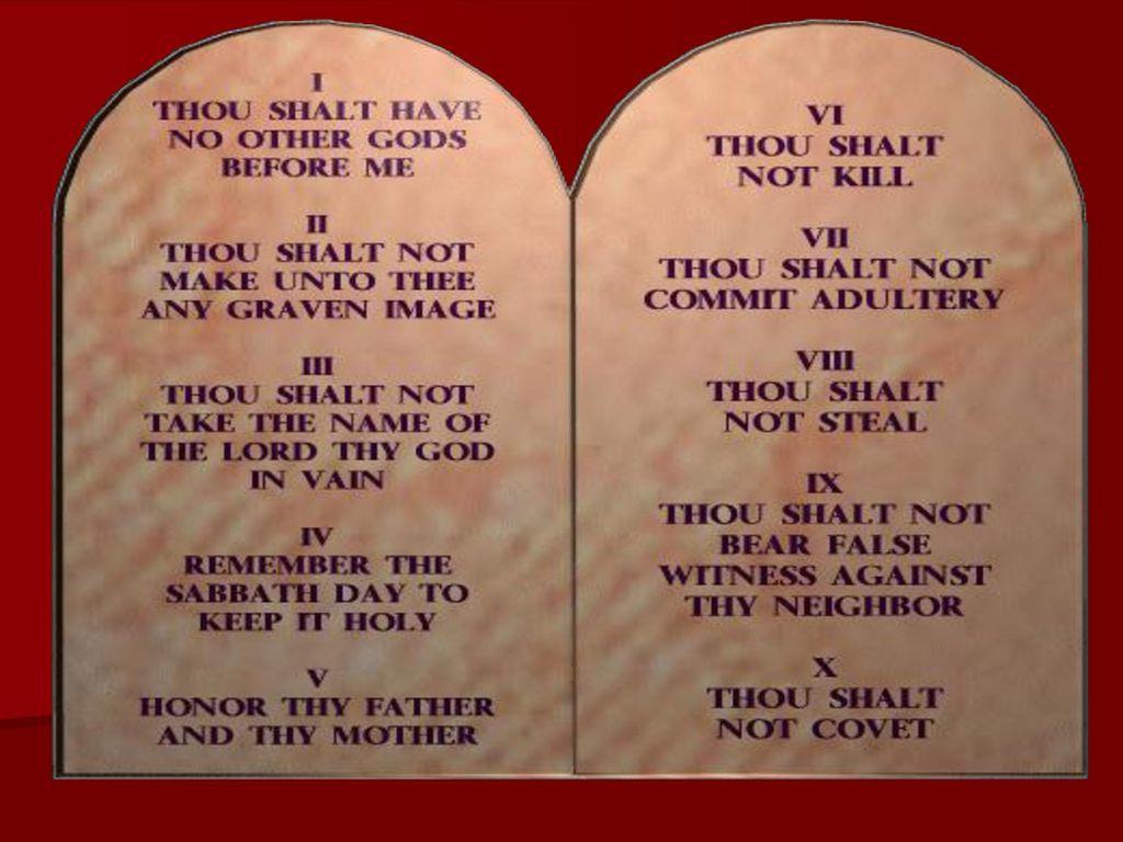 photo regarding 10 Commandments Kjv Printable called Rose Glen North Dakota Test All those The 10 Commandments Kjv