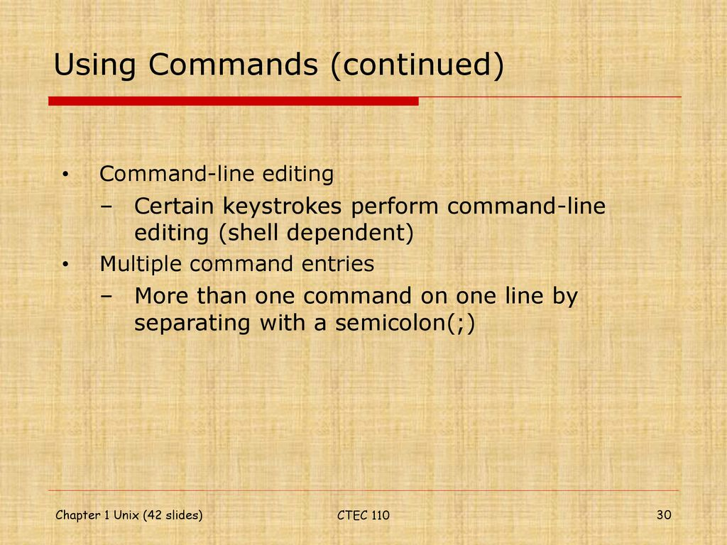 The Essence of UNIX and Linux - ppt download