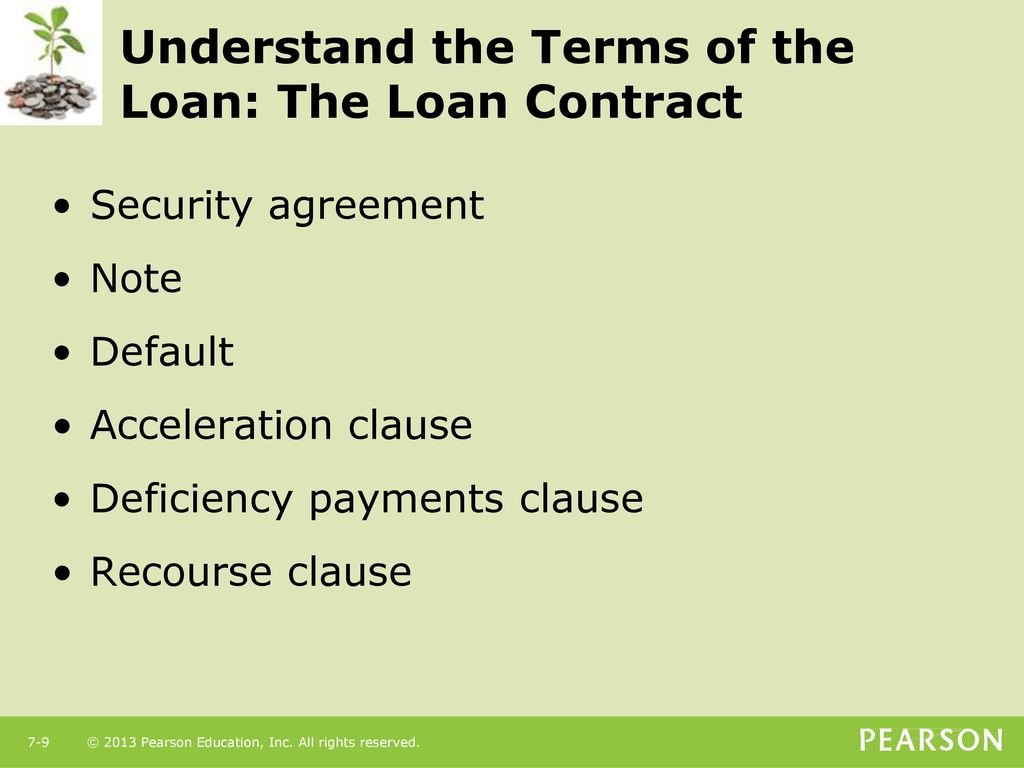 Using Consumer Loans The Role Of Planned Borrowing Ppt Download