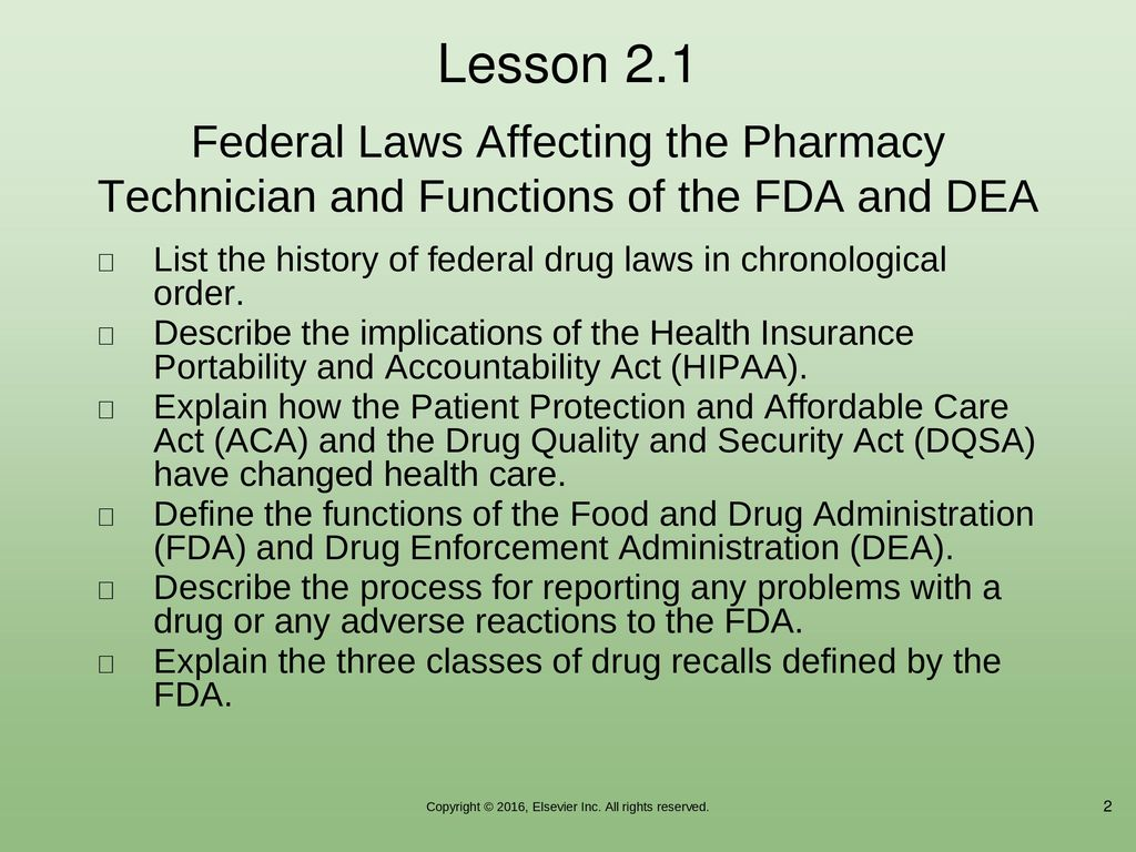 Pharmacy Law, Ethics, and Regulatory Agencies - ppt download
