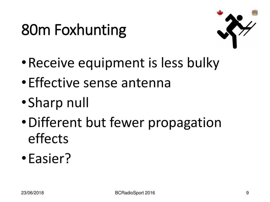80m Fox hunting Receivers - ppt download