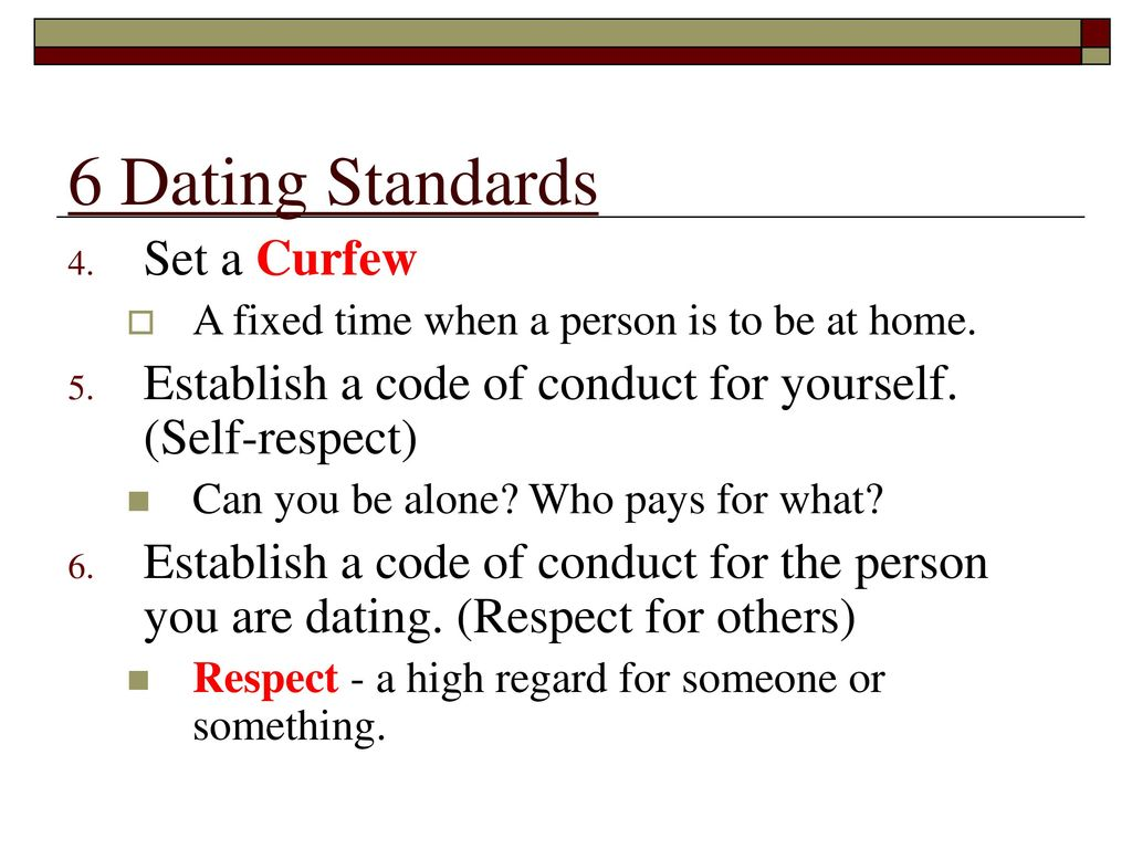 dating curfew