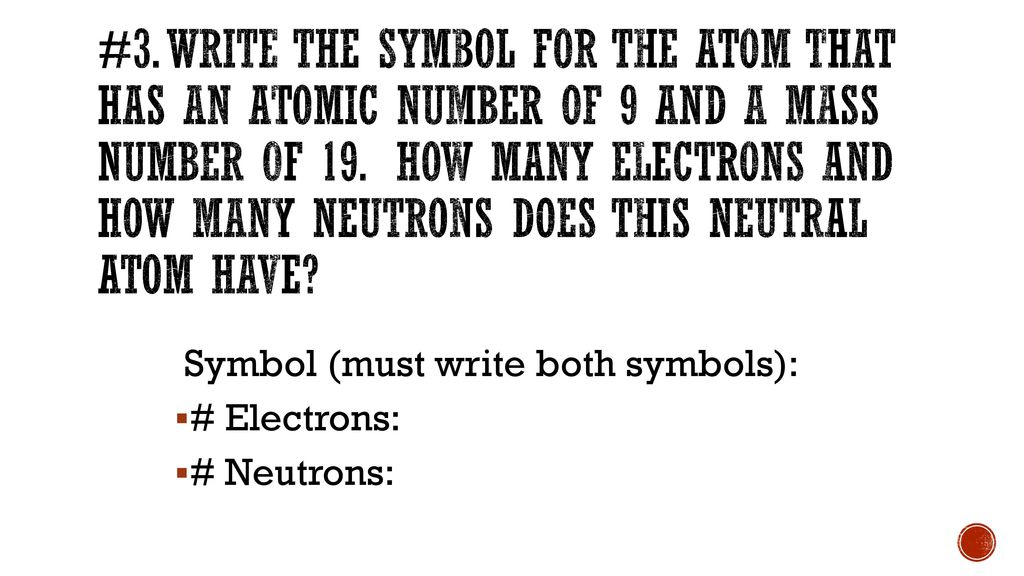 Atomic number 19 how many electrons