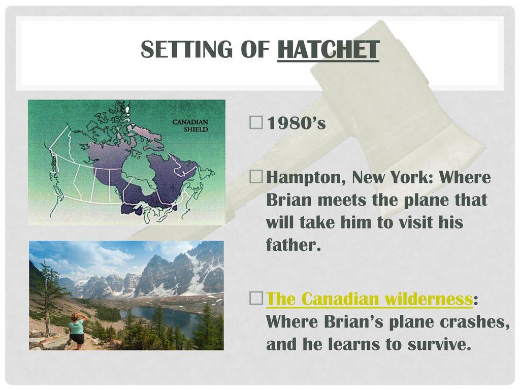 hatchet setting