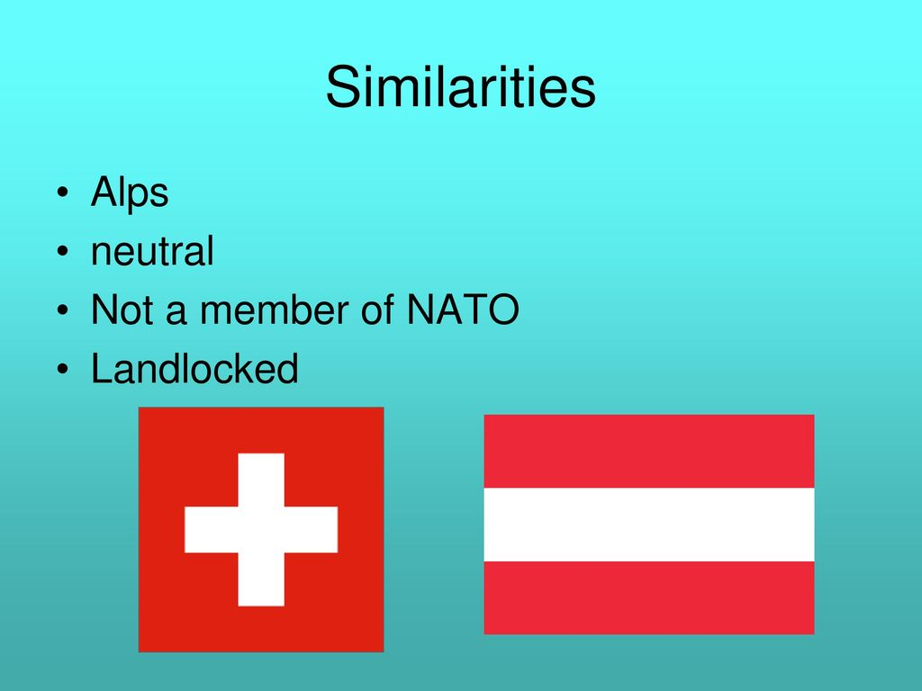 Switzerland And Austria Ppt Download
