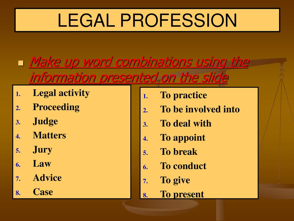 The Legal Profession