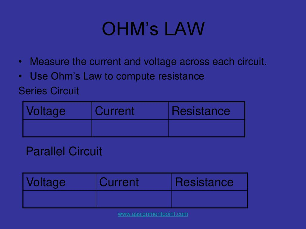 How To Work Electrical Circuits Ppt Download The Resistance Ohms Law Can Be Used Out Voltages And Currents 19 Voltage Current