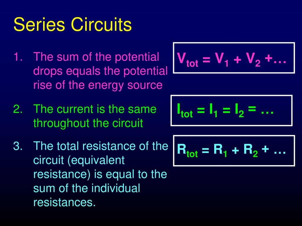Circuits Series Parallel Ppt Download Circuit In And 5