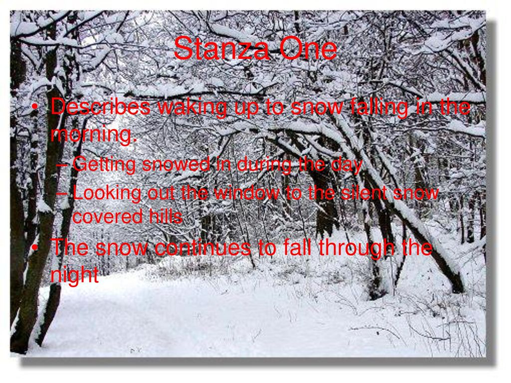 the first snowfall james russell lowell analysis