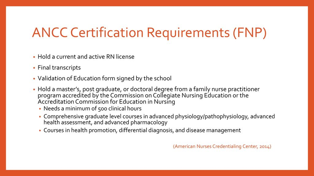 National Certifications And Recertification Requirements Ppt Download