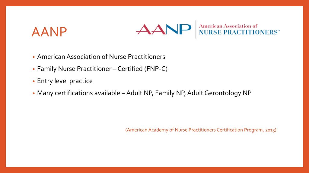 National Certifications And Recertification Requirements