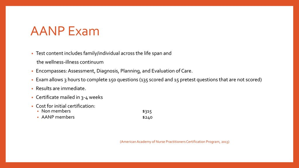 Aanp Certification Exam Choice Image - certificate design template free