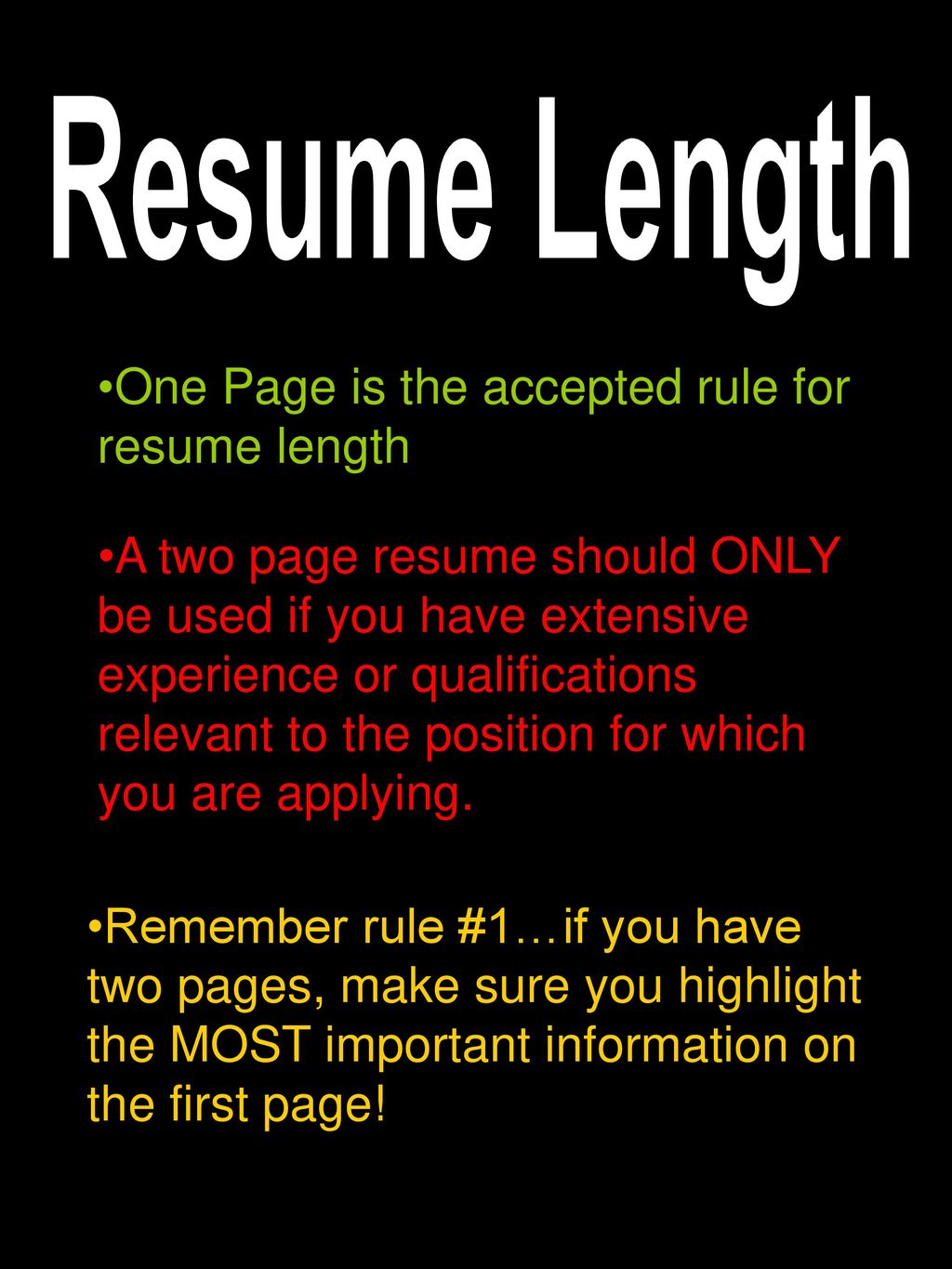 Resumes Be Purposeful!!! The purpose of a resume is to: - ppt download