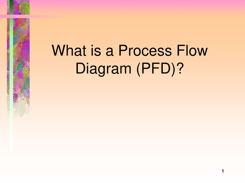 "... Process Flow Diagram (PFD)?""— Presentation transcript: 1 What ..."