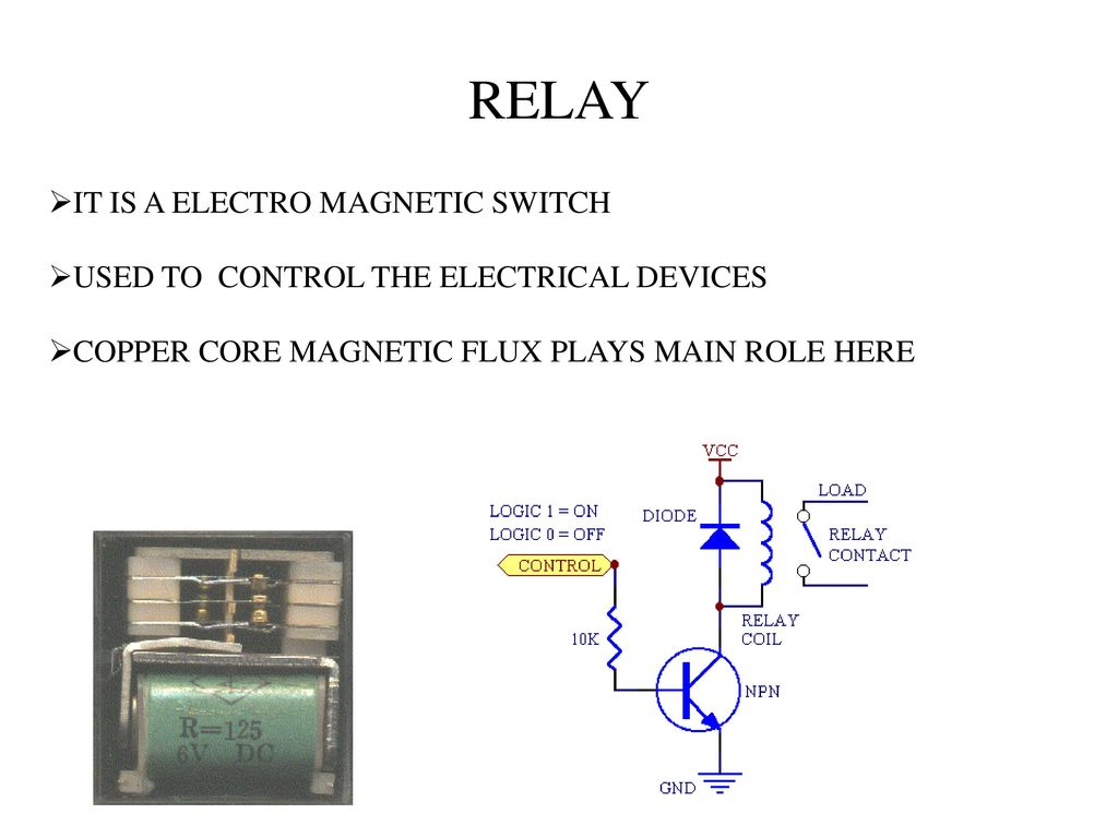 Video Activated Relay To Control Ppt Download Dark Light 12