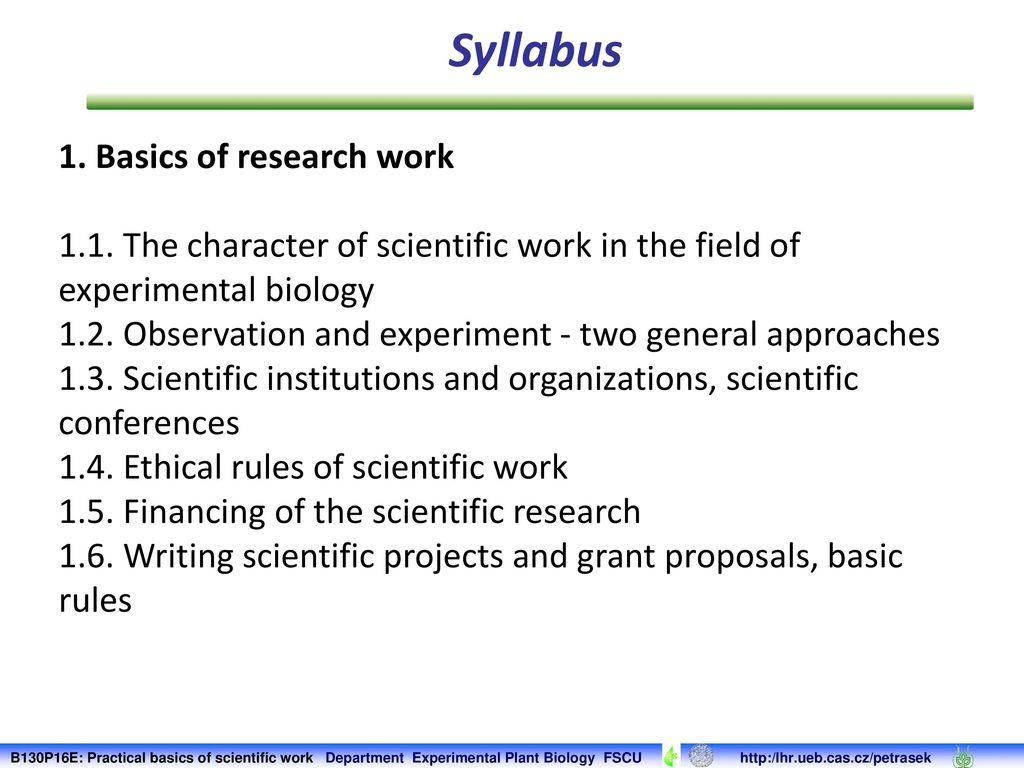 Scientific work by the rules: requirements for the abstract 9