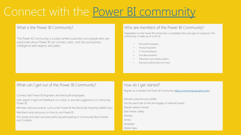 Power Bi Community