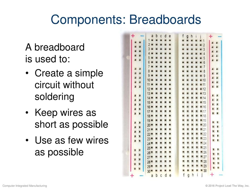 Introduction To Handshaking Communication With Ssc 32u Ppt Download Building A Circuit On Breadboard Components Breadboards