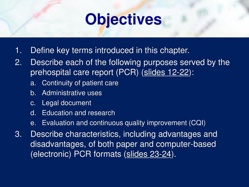 Chapter 4 Documentation Advance Preparation - ppt download