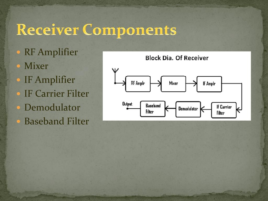 Video Transmitting Robot Ppt Download Wireless Receiving Demodulation Integrated Circuit Diagram Amplifier 19 Receiver Components