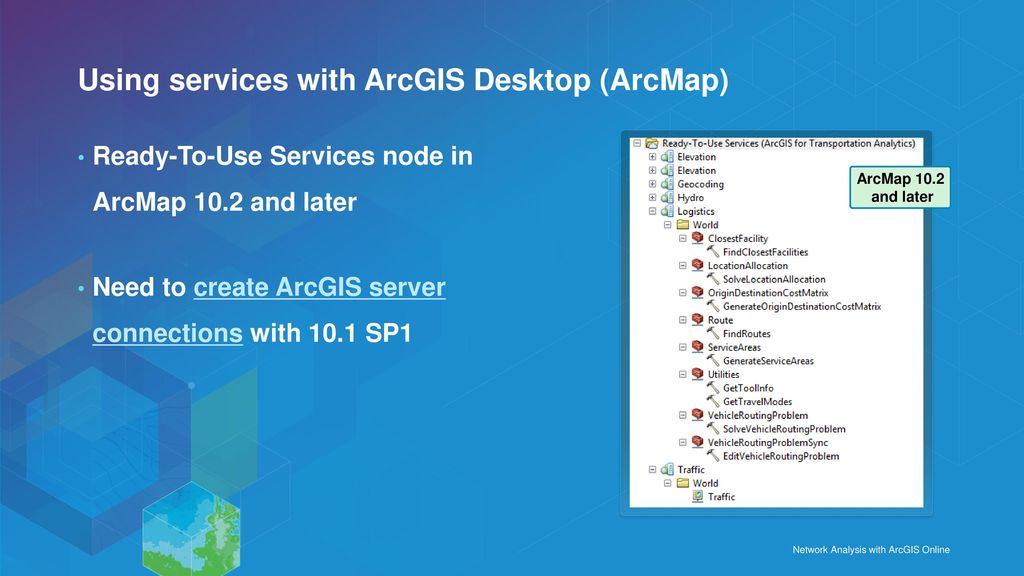 Network Analysis with ArcGIS Online - ppt download