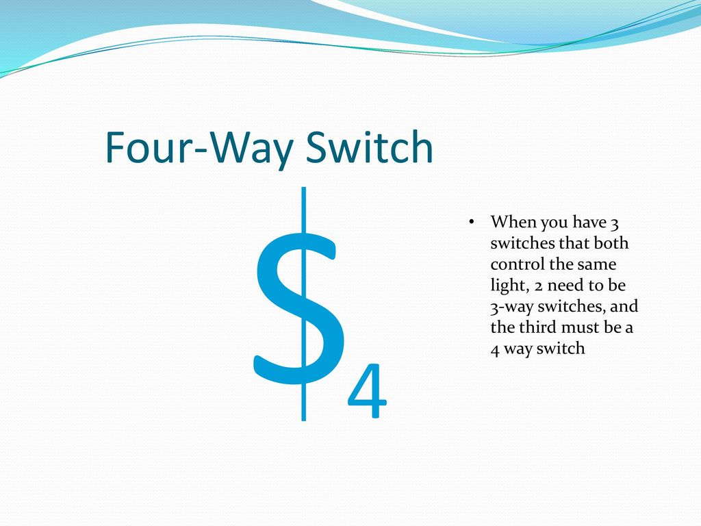 Mechanical And Electrical Systems Ppt Download 4 Way Switch Controls Four S When You Have 3 Switches That Both Control The Same