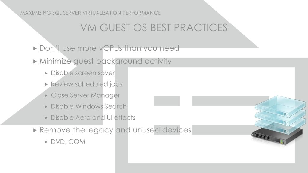 Maximizing SQL Server Virtualization Performance - ppt download