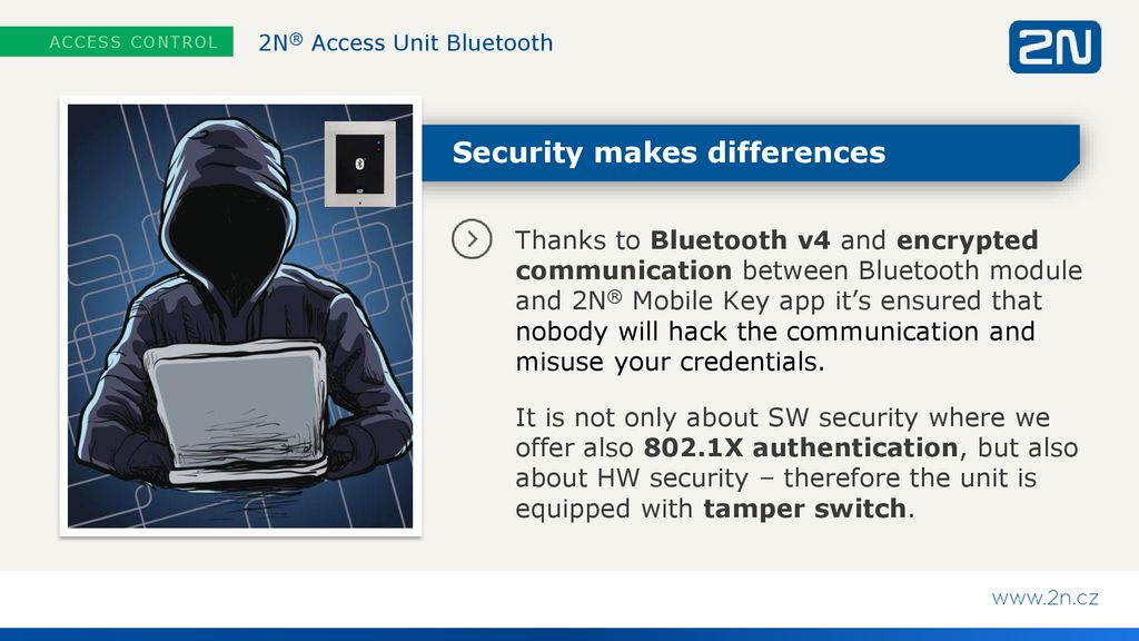 2N® Access Unit Bluetooth - ppt download