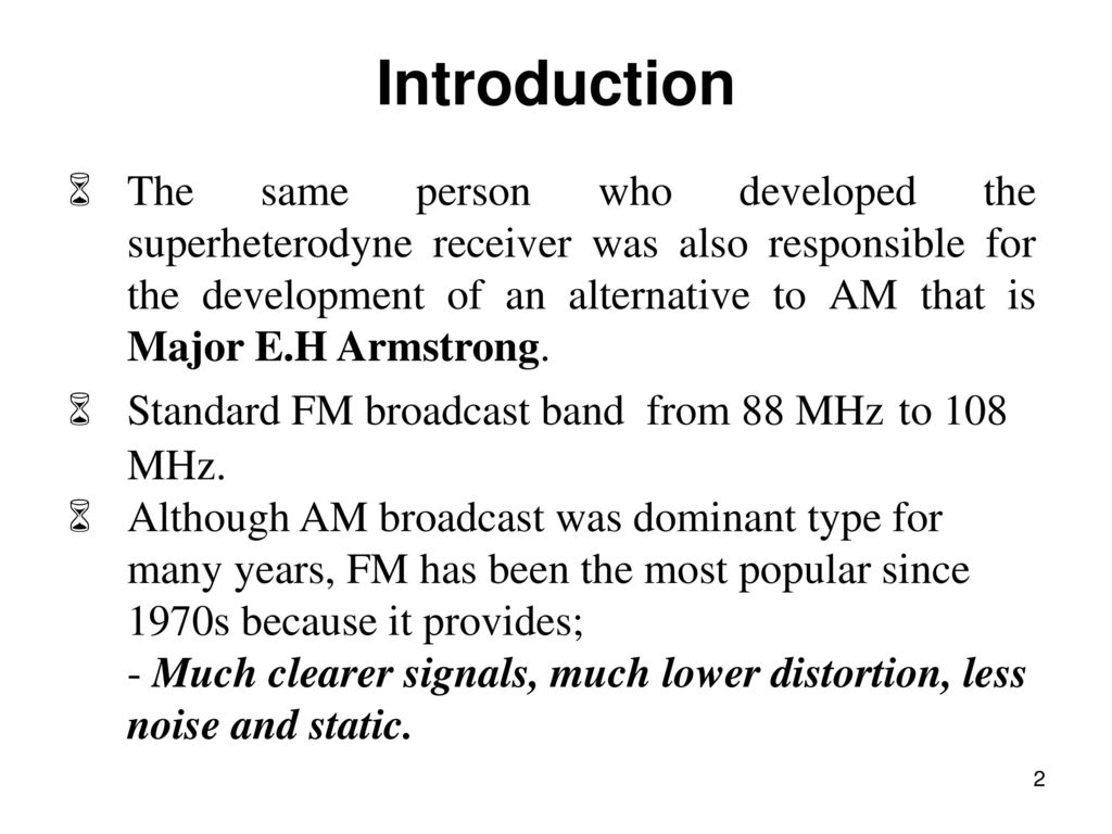 Chapter 3 Frequency Modulation Ppt Download Modulated Oscillator For Fm Transmitter Introduction